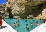 Kanyonun ortasındaki'Kudret Havuzu'na ilgi