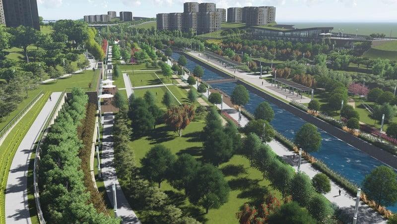TOKİ Kayaşehir Kayapark inşaatı başladı