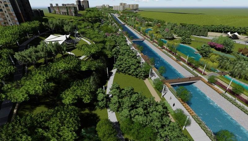 İstanbul'un en yeşil ilçesi Başakşehir