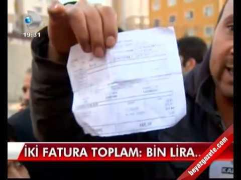 Kayaşehir Daf Fatura Sorunu Kanal D 'de
