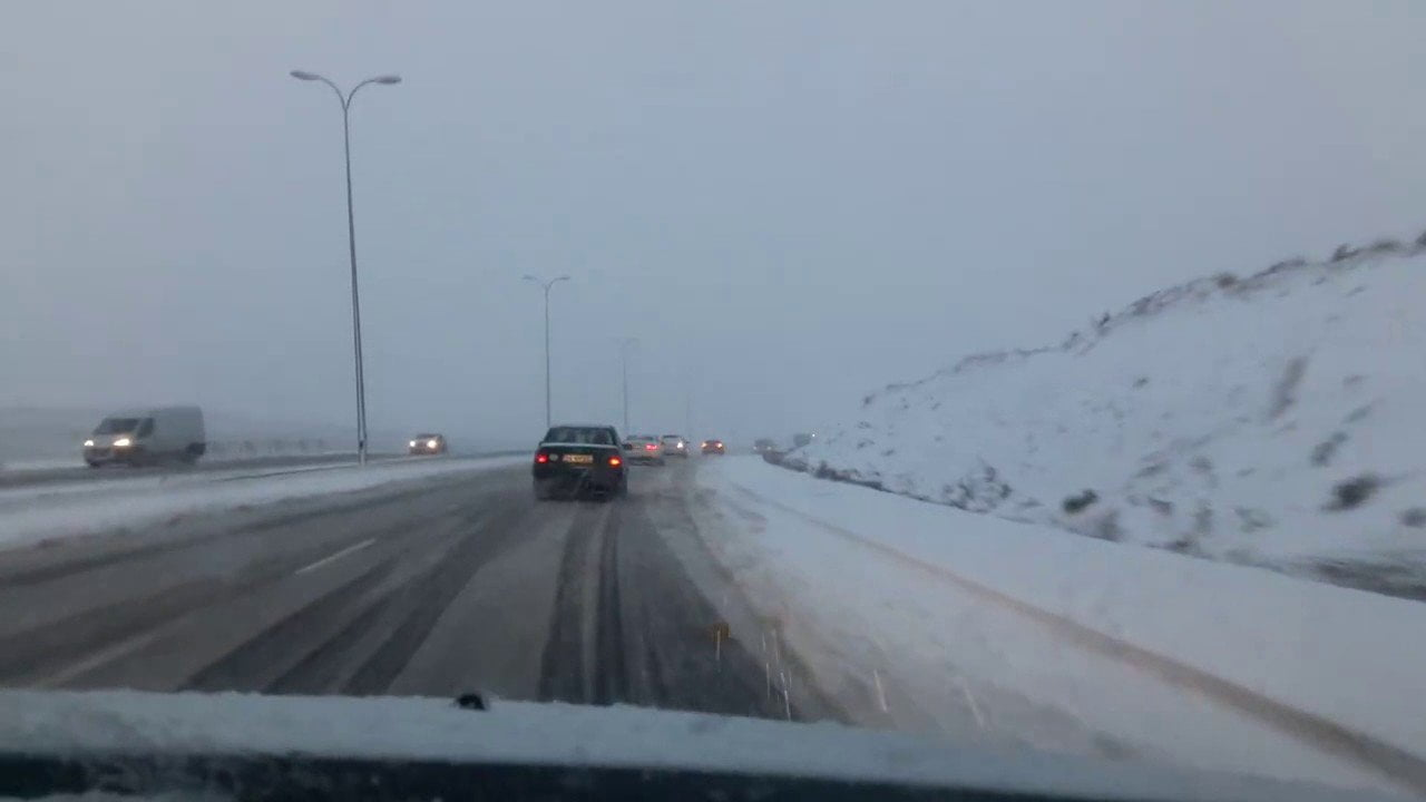Kayaşehir Yoğun Kar Yağışı Altında