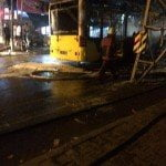 15 Temmuz Gecesinde İETT Otobüsünü Yaktılar