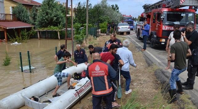 Başakşehir'de Sel Mağdurlarına Yardım