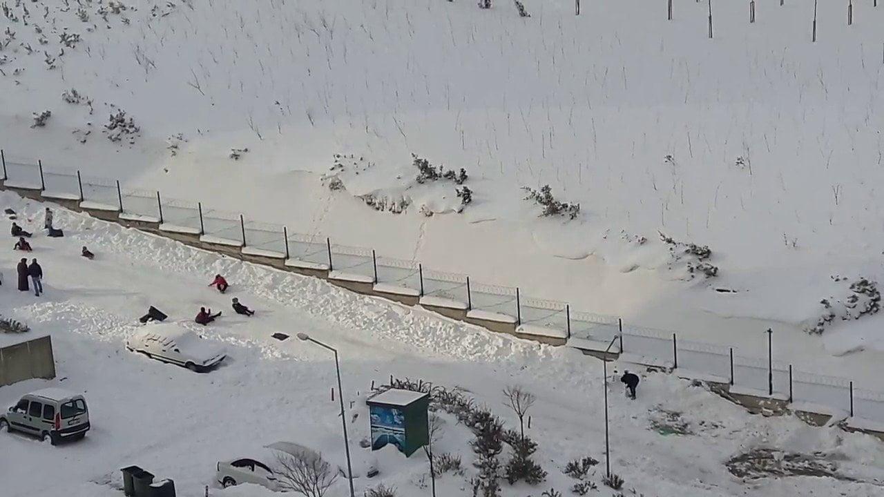 Toki Kayaşehir Konutlarıda Kayak Keyfi