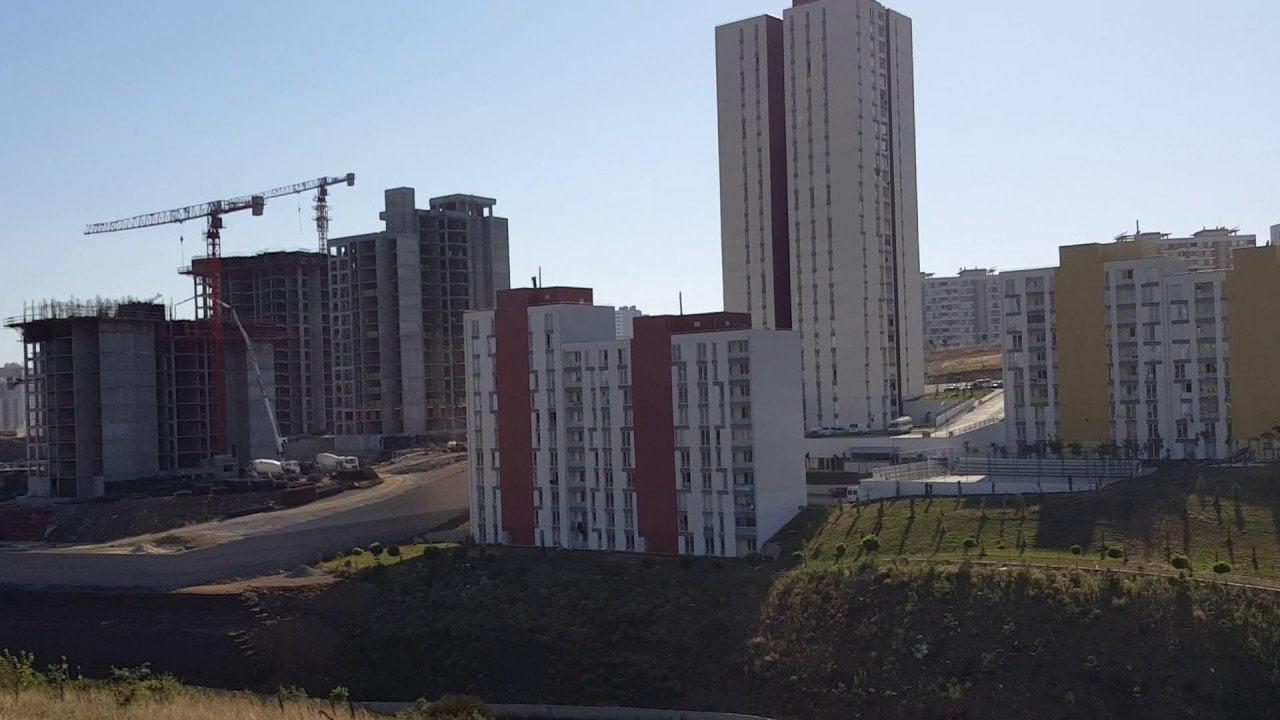 TOKİ-Makro Kayaşehir Projesi İnşaatı