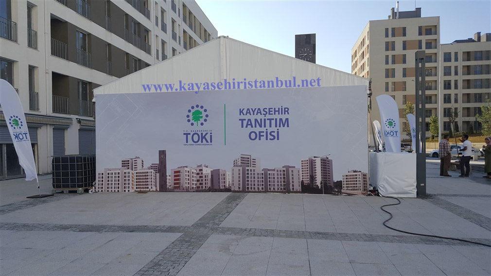 Toki Kayaşehir 24.Bölge Tanıtım Ofisi Açıldı
