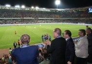 erdoğan maç izlerken