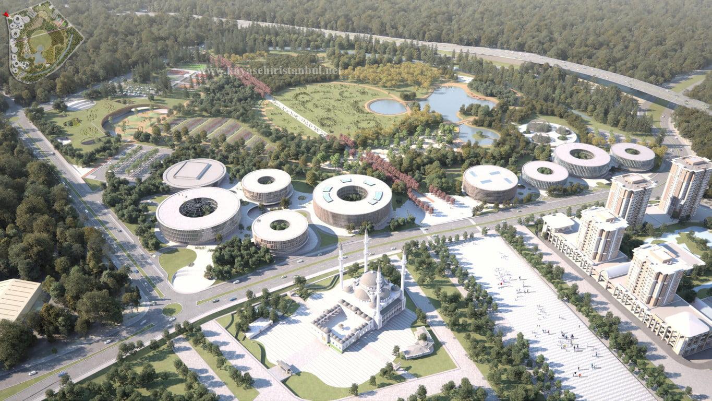 Kayaşehir Bölge Parkı Ticarileri projesi