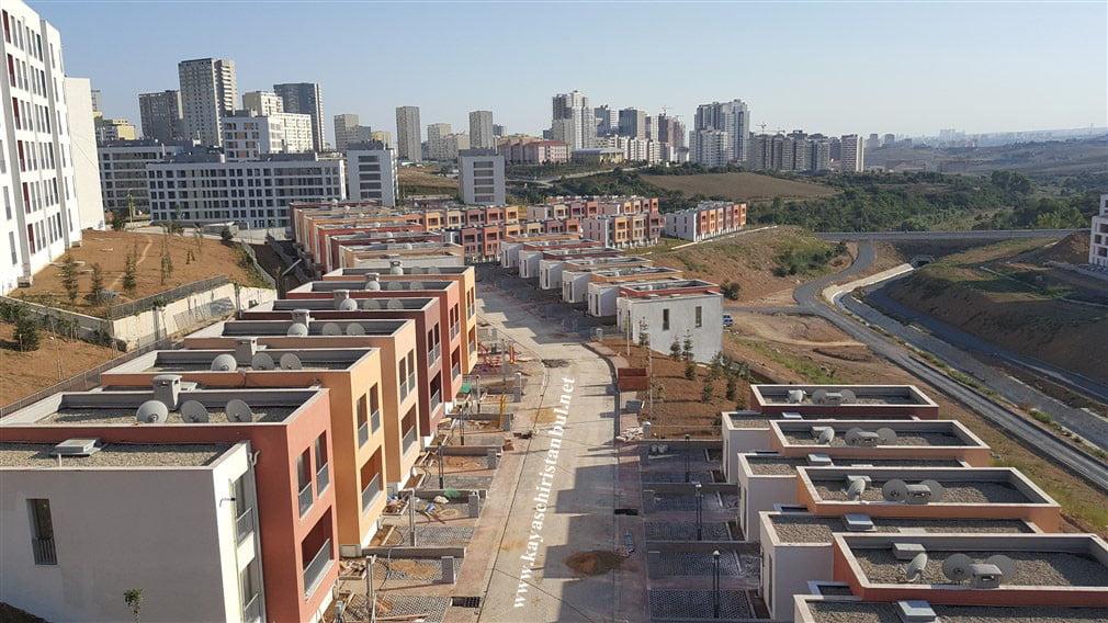 Toki Kayaşehir Projesindeki Villalar