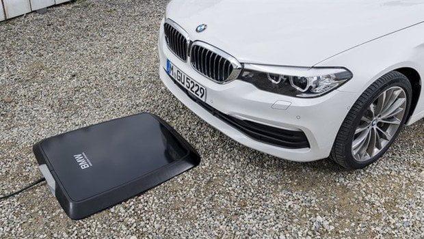 BMW'den kablosuz şarj cihazı