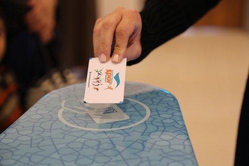 Başakşehir Spor parklarında dijital kart