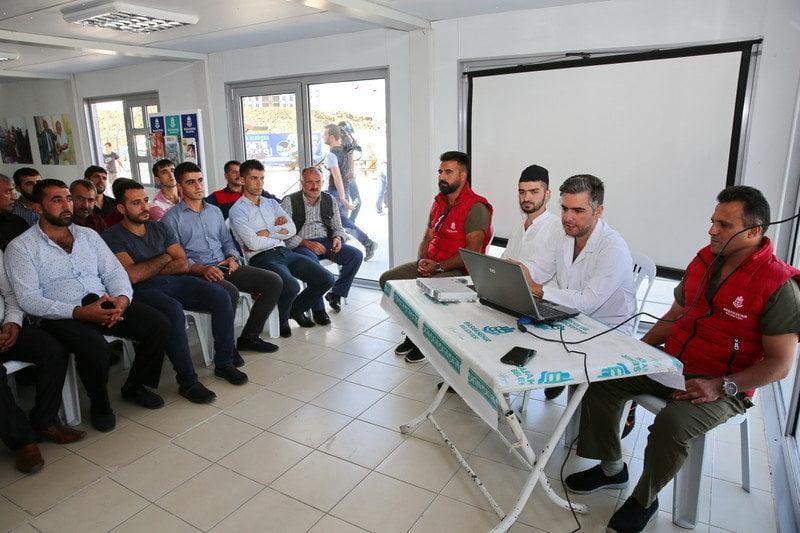 Başakşehir'de Kasaplara Eğitim Verildi