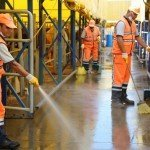 Kayaşehir Kurban Pazarı dezenfekte edildi