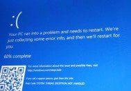 Mavi ekran hatasıyla karşılaşıyorsanız dikkat!