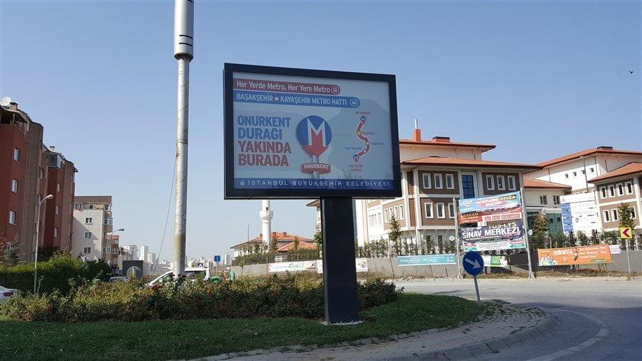 Başakşehir Metro Durakları