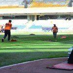 Başakşehir Fatih Terim Stadyumu bakıma alındı