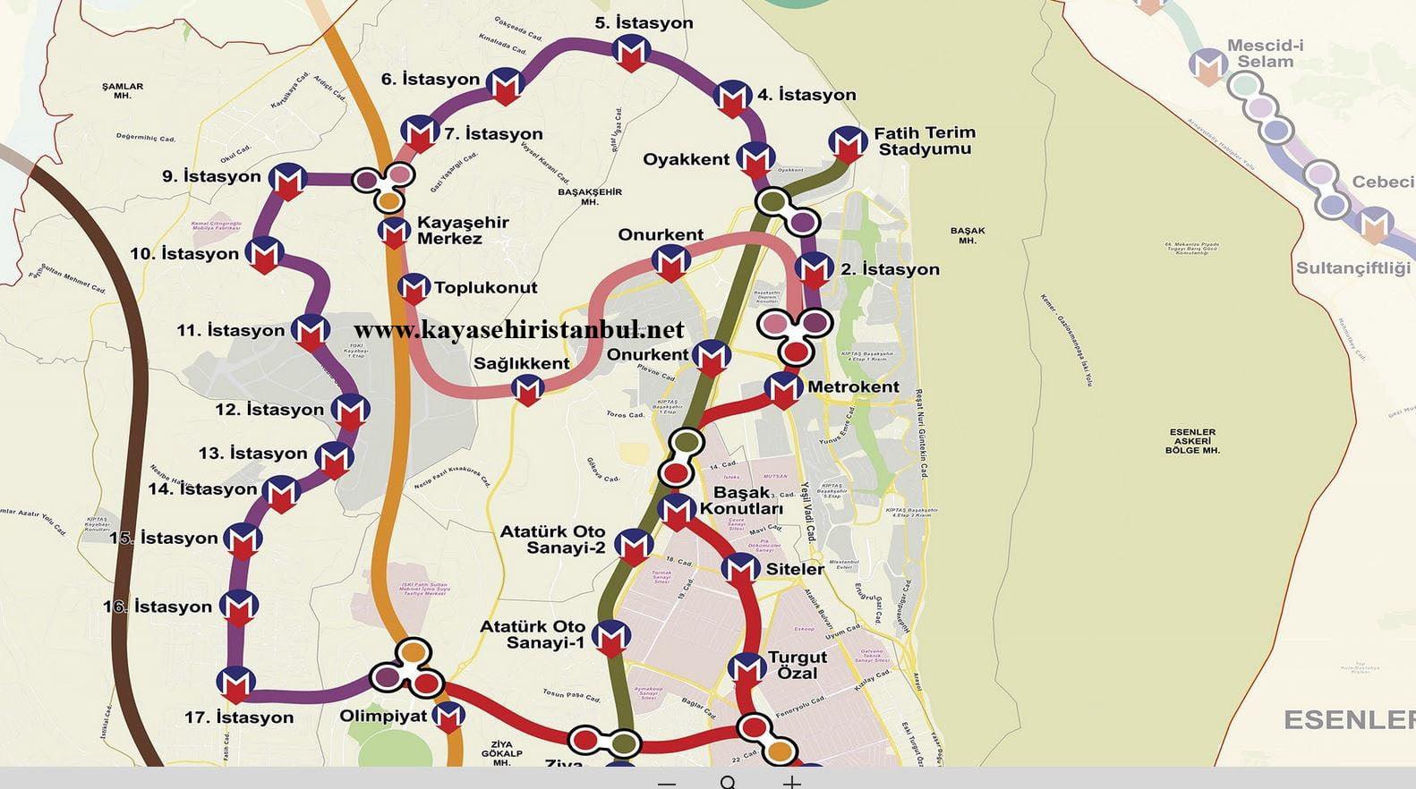 Merkez Kayaşehir'den Tramvay Geçecek
