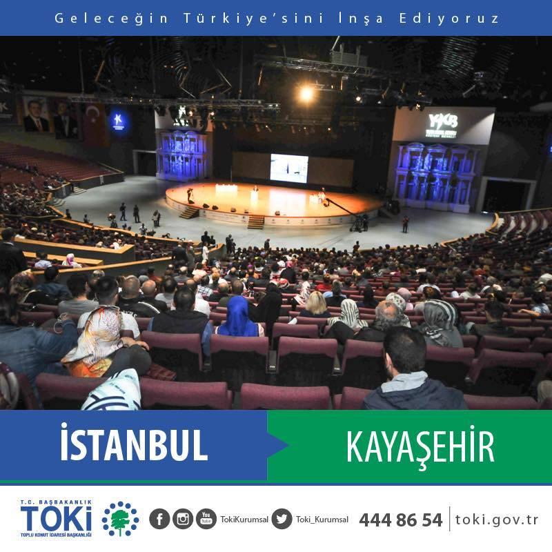 TOKİ Kayaşehir Projesi 3+1 Kura Çekilişi Sonuçları