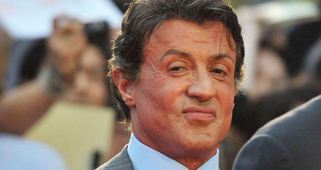Sylvester Stallone kızlarıyla buluştu