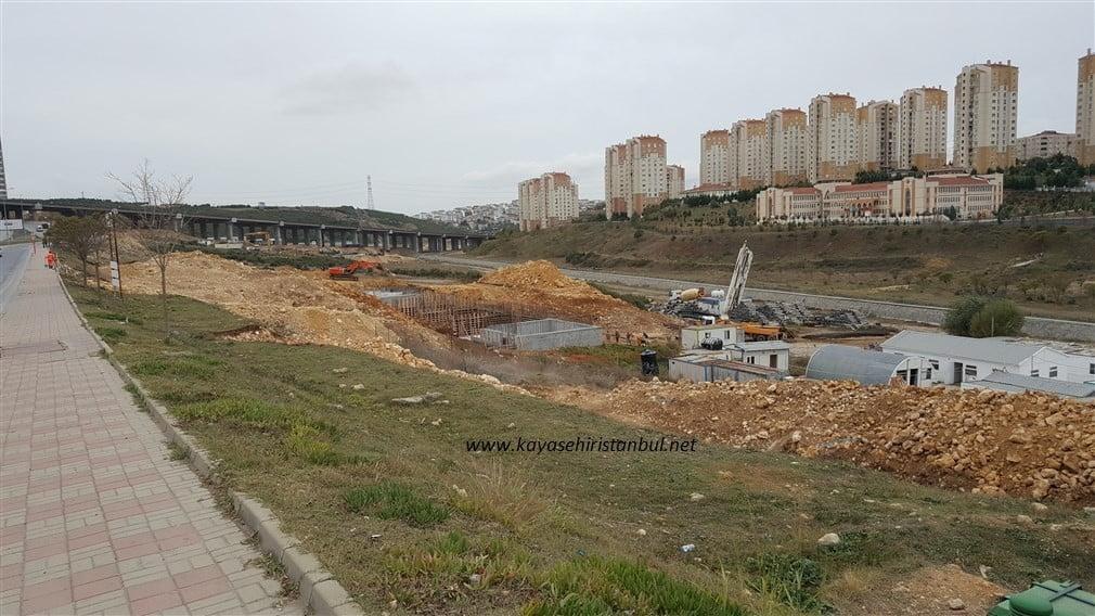 Kayaşehir Akaryakıt İstasyonu İnşaatı
