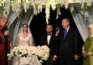 Cumhurbaşkanı Erdoğan Beşiktaşlı futbolcu Gökhan Töre'nin nikahına katıldı
