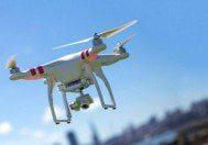 Polis izinsiz uçurulan'drone'u vurdu