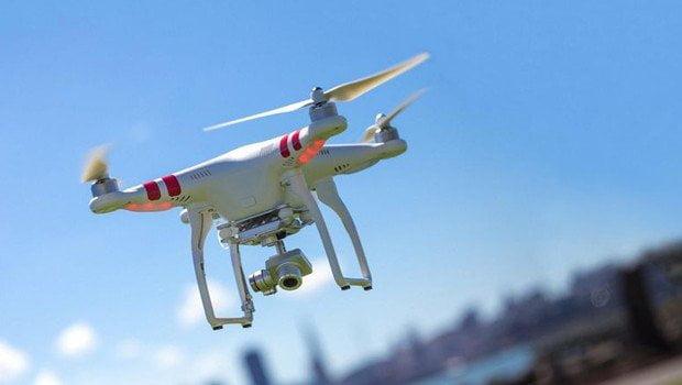 Polis izinsiz uçurulan 'drone'u vurdu