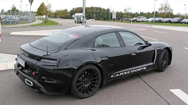 Porsche'nin elektrikli otomobili ilk kez