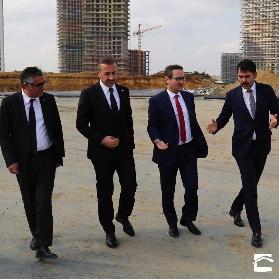 Başakşehir'in Başkanı Kuzey Yakası Projesini İnceledi