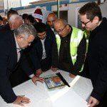 Yasin Kartoğlu, Kayaşehir'deki BERM'i ziyaret etti