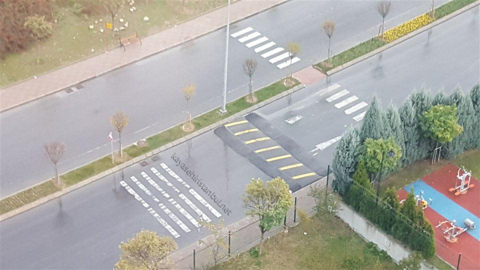Başakşehir'de Hız Kesicilere Düzenleme