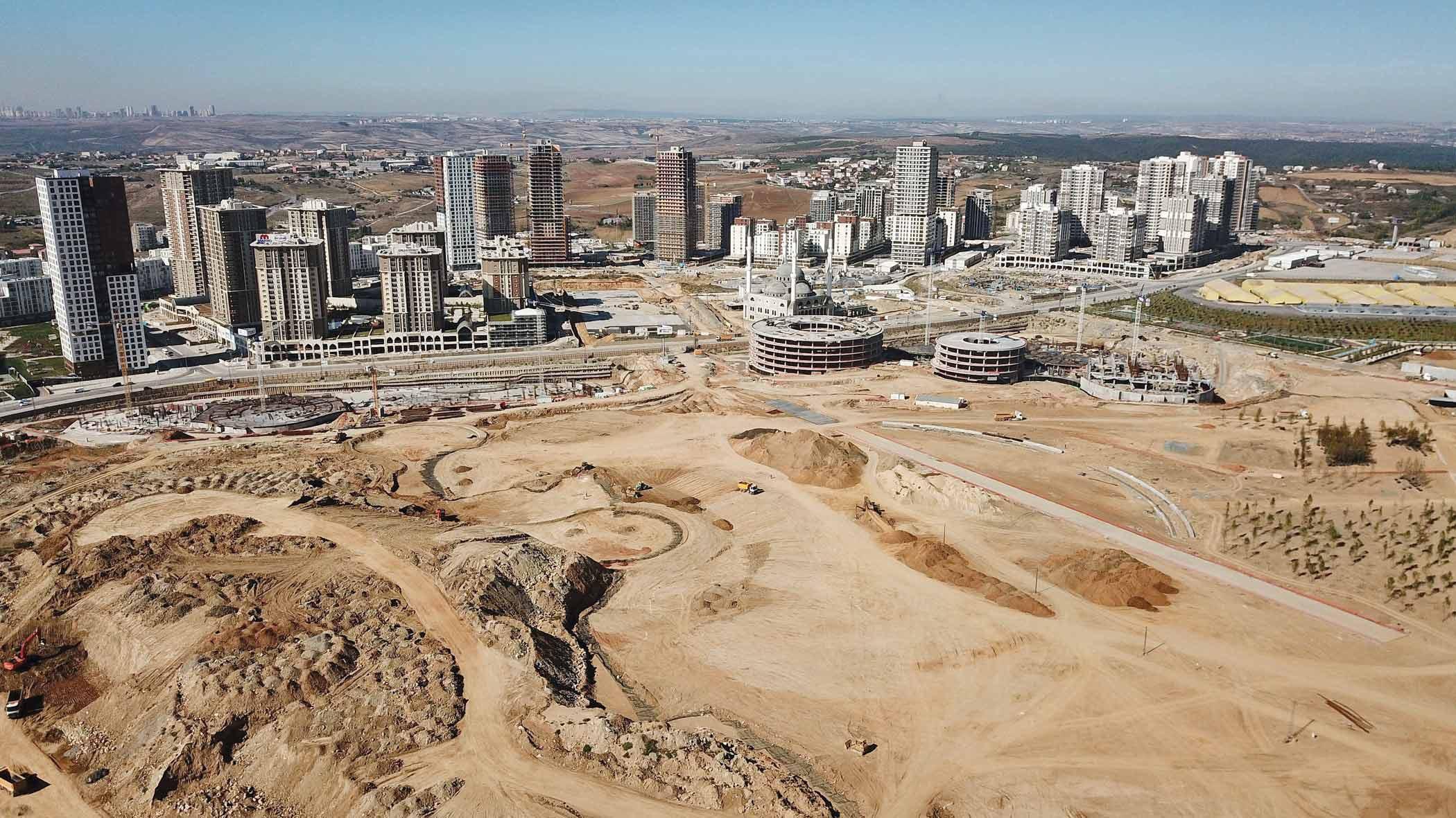 Başakşehir Mega projelerle değerleniyor