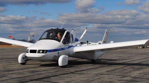 Otomotiv devinden uçan araba müjdesi