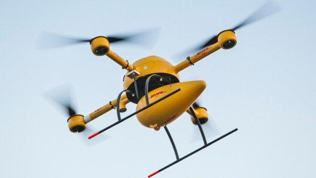 PTT drone ile teslimat yapacak