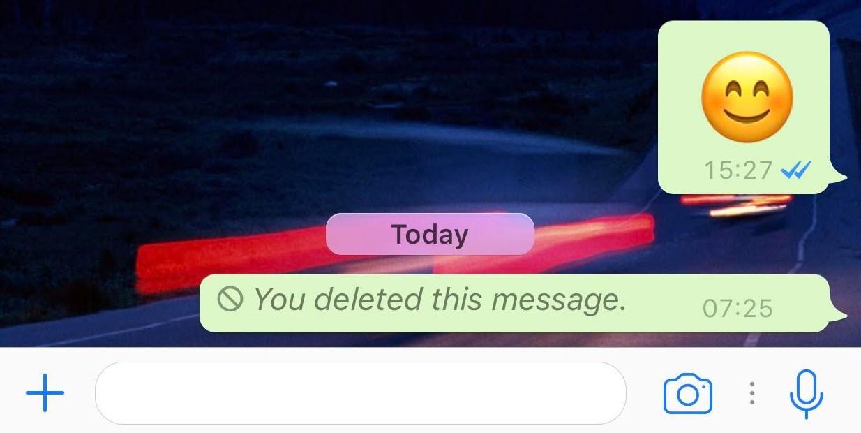 Silinen Whatsapp mesajları arkada iz bırakıyor!