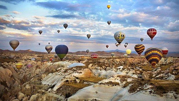 """Uçan balonlarda """"helyum"""" zorunlu olacak"""