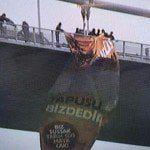 Boğaz Köprüsü'nde'Kudüs İslam'ındır' dev pankartı