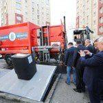 Gagavuzlular akıllı çöp toplama sistemine hayran kaldı