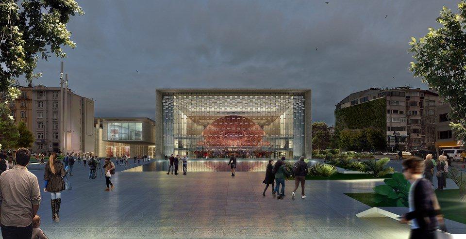Yeni AKM binası 2019'da tamam