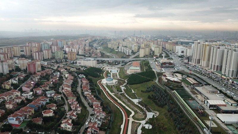Başakşehir Sular Vadisi yenilendi