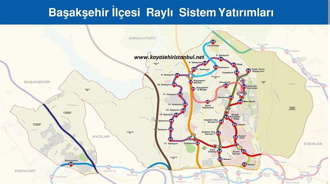 Kayaşehir Metrosu Fenertepe'ye Uzatıldı