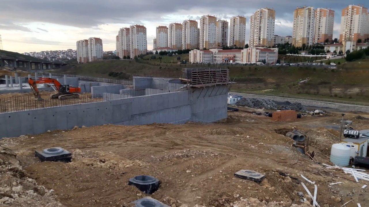 Giriş Kayaşehir Akaryakıt İstasyonu İnşaatı