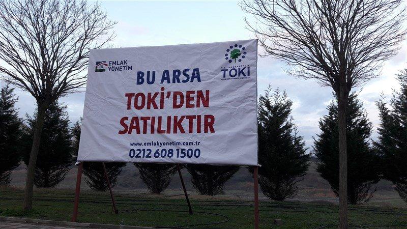 Toki Kayaşehir'de Arsa Satıyor
