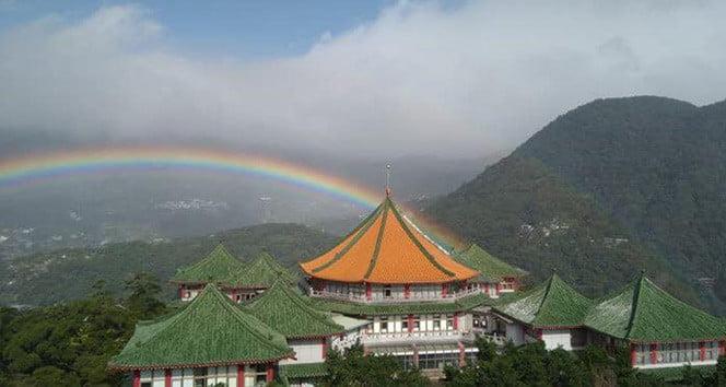 Tayvan'da en uzun gökkuşağı rekoru