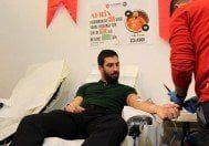 Arda Turan, Mehmetçik için kan verdi