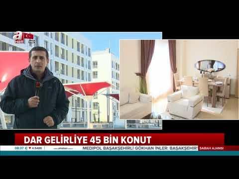 TOKİ Kayaşehir'de 600 lira taksitle ev!