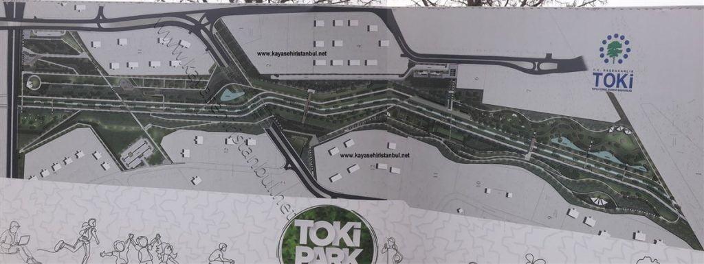 Toki Park Başakşehir Vaziyet Planı
