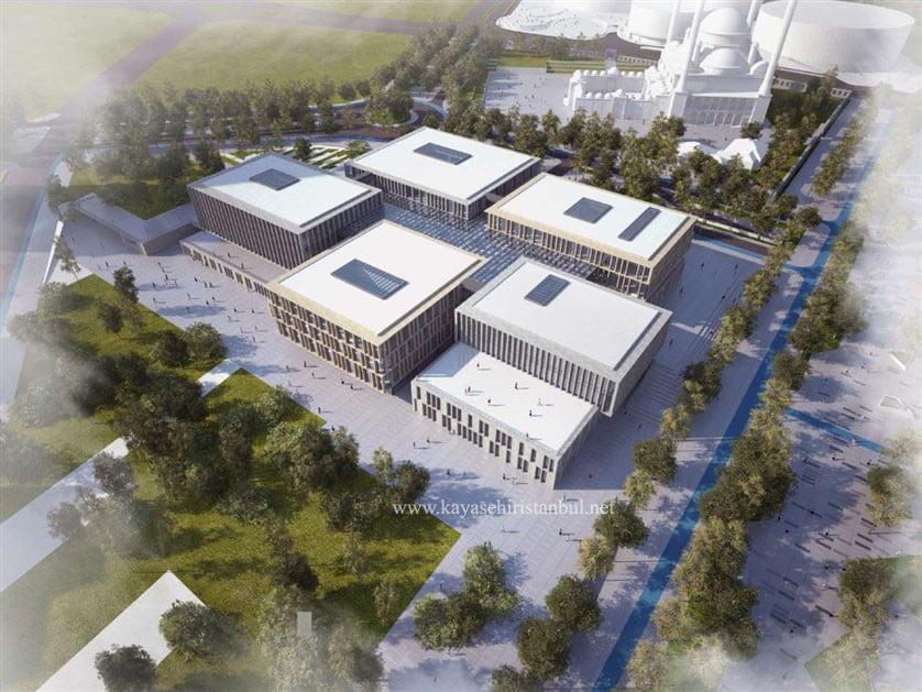 Başakşehir Belediyesi Yeni Binası Kayaşehir'de