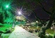 Bahçeşehir Gölet Işıklandırıldı