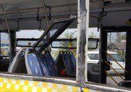 Kayaşehir'de hafriyat kamyonu İETT otobüsüne çarptı